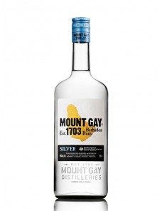 Mount Gay - Rum  Silver 40° 6/100 cl
