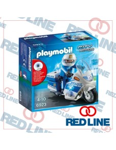 PLAYMOBIL - POLIZIA IN MOTO 70462